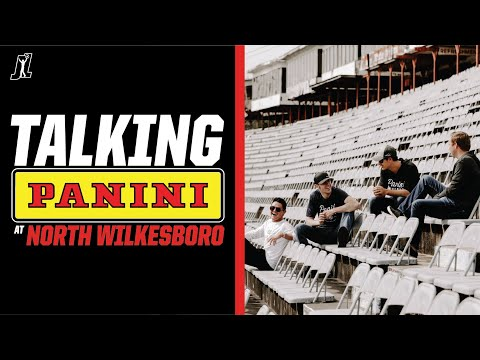 Talking @panini Cards at North Wilkesboro!