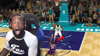 I Shot The Ball Laying On The Court! NBA 2K19 MyCareer Ep. 110