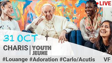 samedi 31octobre 22h en Direct Grande Soirée renouveau charismatique jeunes avec le pape Fracois  Hq720