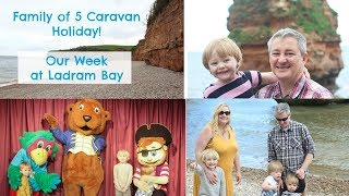 Our Week At Ladram Bay - Family of 5 Caravan Holiday Vlog