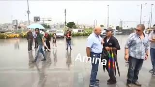 Amina amina diyip şemsiyeyle vuran dayı