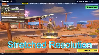 How to get stretched resolution in Fortnite *Easy*