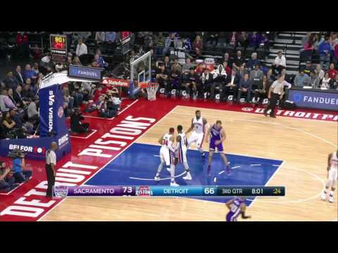Sacramento Kings vs Detroit Pistons | January 23, 2017 | NBA 2016-17 Season