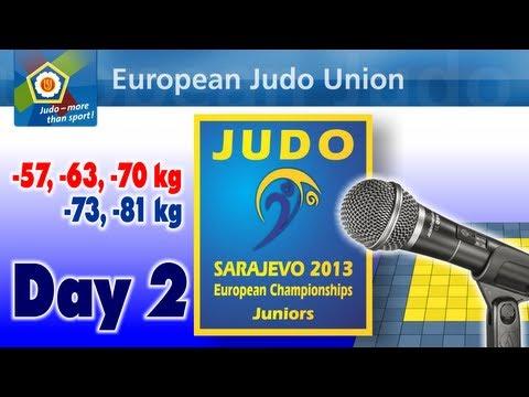 European Championship Juniors 2013 - Day 2