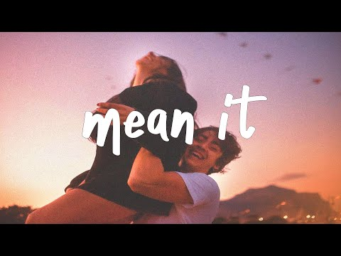 Lauv & LANY - Mean It (Lyric Video)