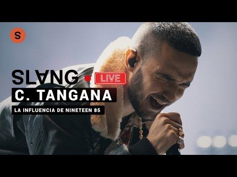"""C. Tangana y su trabajo en """"Nunca Estoy"""" con Nineteen85, productor de Drake l SlangCam Live"""