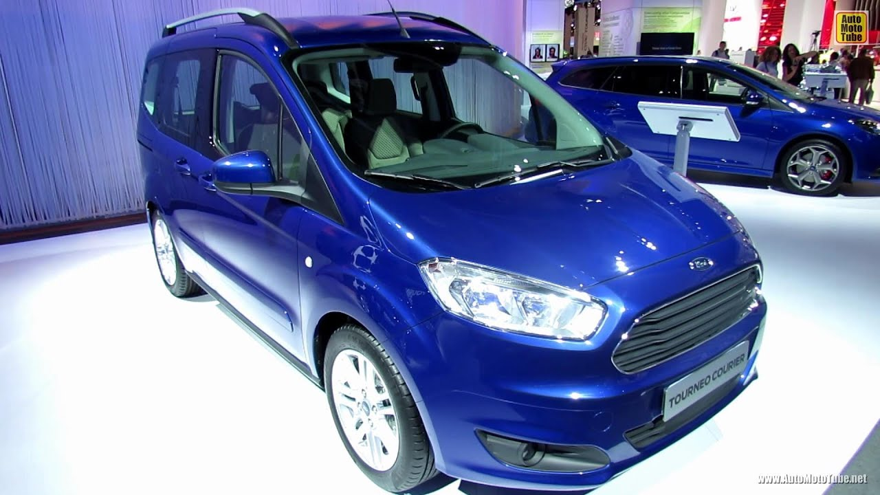 2014 ford tourneo courier exterior and interior walkaround 2013 frankfurt motor show youtube. Black Bedroom Furniture Sets. Home Design Ideas