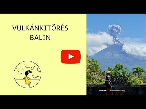 Vulkánkitörés Balin 2018 július