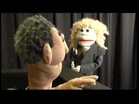 Channel 4 News and the puppet