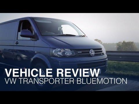 VW Transporter Bluemotion economy challenge