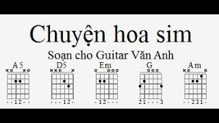 Hướng dẫn solo Chuyện Hoa Sim trên Guitar Pro (Văn Anh)