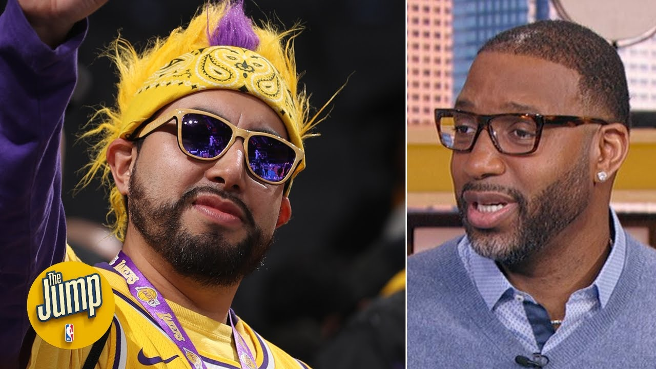 Lakers Fans Would Absolutely Crash The Clippers Title Parade And Boo Tracy Mcgrady The Jump