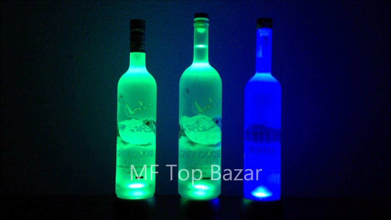 Cerveceria Artesanal Zona Norte ~ Base de Led para Garrafa de Vodka MF Top Bazar YouTube