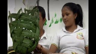 Tejiendo el catumare, indígenas del Guainía esperan preservar y trasmitir sus conocimientos