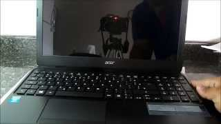 Notebook Acer Aspire E1-572-6_BR648 | Unboxing Brasil