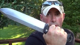Repeat youtube video BIG BAG O' BLADES: Survival Knives and Edged Tools