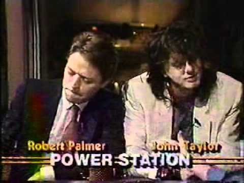 Robert Palmer & John Taylor (Power Station) on MTV