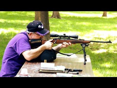 Remington Model 700 .30-06 vs. Milk Jug