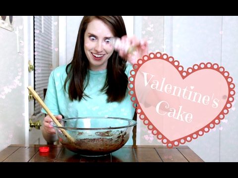 Overly Attached Girlfriend Bakes a Cake | Valentine's Day