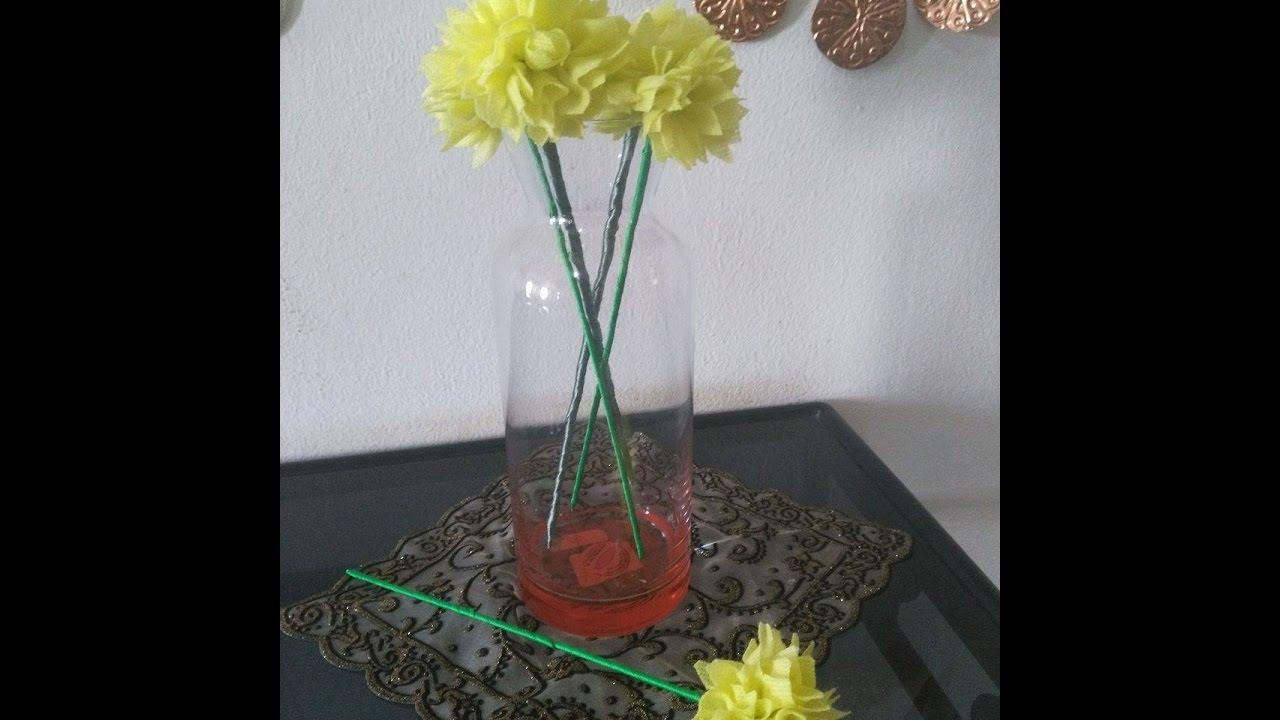 Diy home decor how to make fabric flower bouquet tutorial diy home decor how to make fabric flower bouquet tutorial izmirmasajfo
