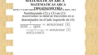 1/(tanx+cotx)=senxcosx