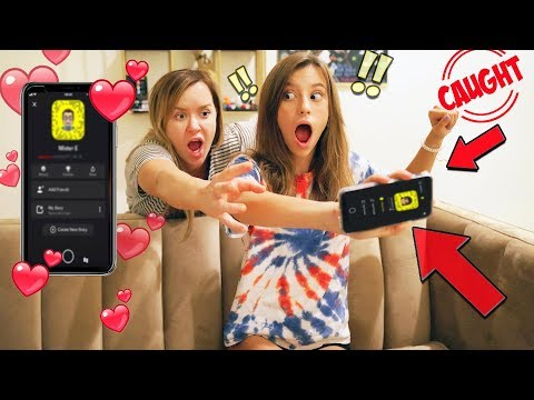 ❤️WE CAUGHT JAYLA ON SNAPCHAT WITH HER BOYFRIEND!! 😨