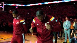 LeBron James illuminati Finals Game 2 2015