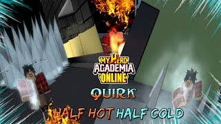 Half Hot Half Cold - My Hero Academia Online (fr) Roblox