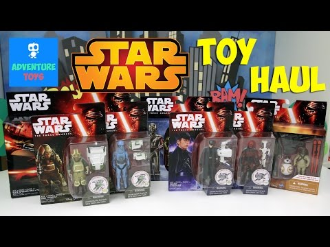 Star Wars Episode VII: The Force Awakens | Toy Haul #2