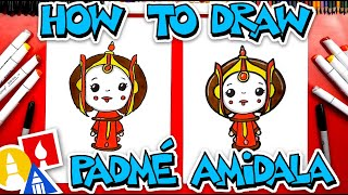 How To Draw Padm Amidala From Star Wars