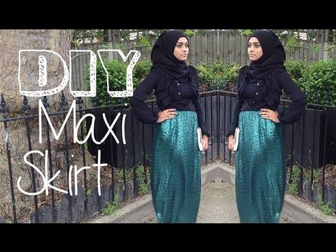 DIY│Maxi Pencil Skirt