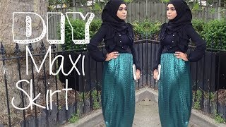 DIY│Maxi Pencil Skirt