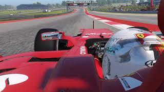 F1 2017  Sebastian Vettel Pole Lap USA Grand Prix  1:32,112