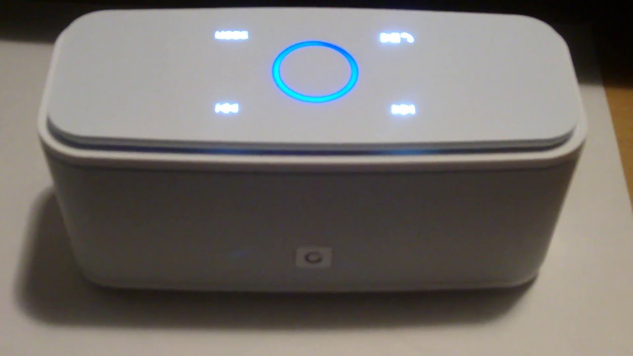 DOSS Bluetooth portable speaker system - YouTube