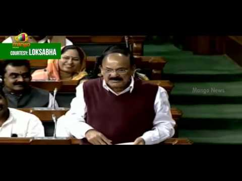 Venkaiah Naidu Powerful Punches To Mallikarjun Kharge | We Feel Proud Of Being Inspired By RSS