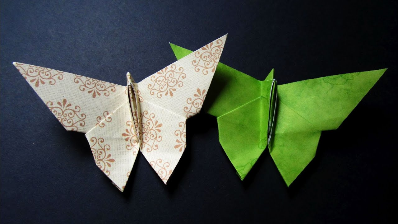 Origami Butterfly Instructions Easy