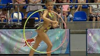 Соревнования по художественной гимнастике на Кубок мэра Краснодара проходят в городе