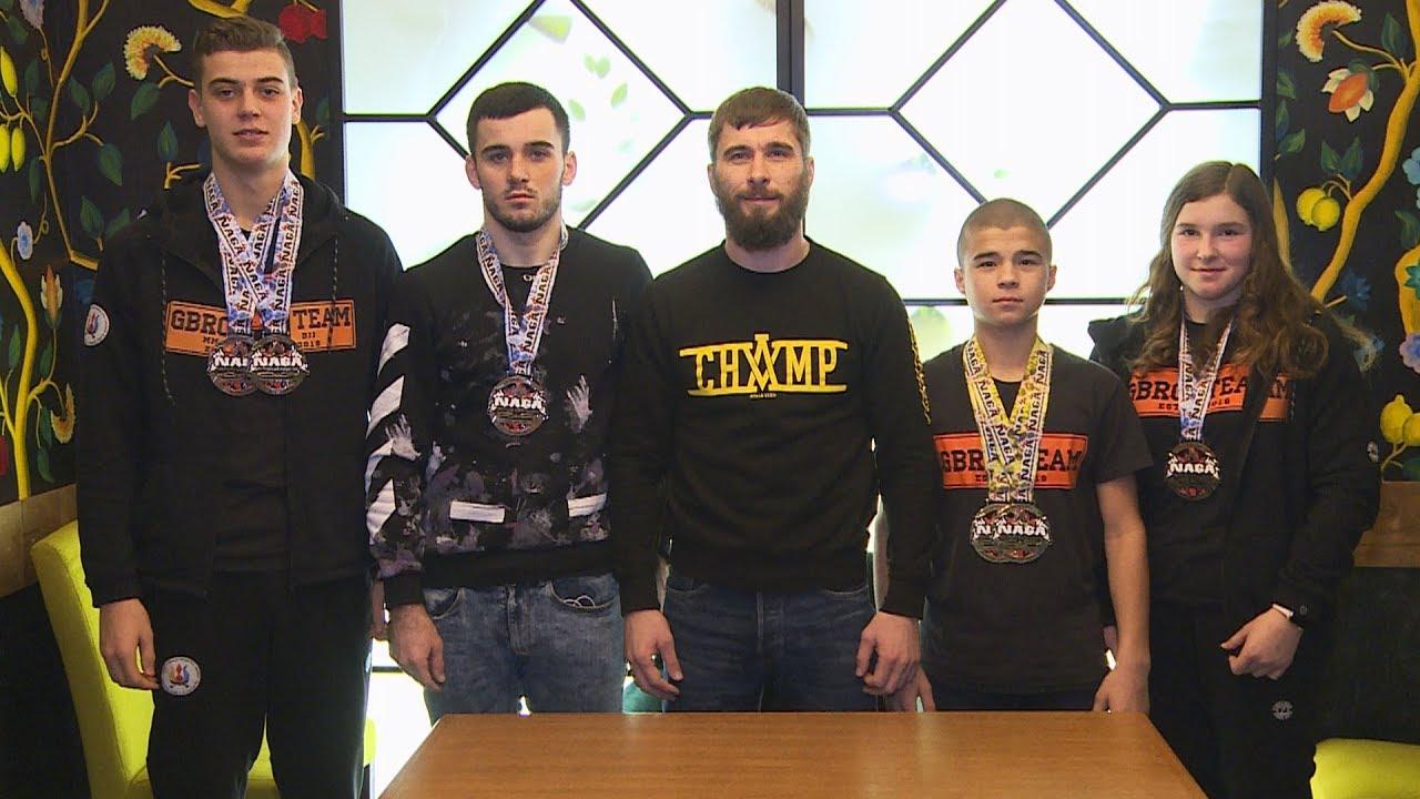 Коломияни здобули нагороди на Чемпіонаті Європи з греплінгу (відеосюжет)