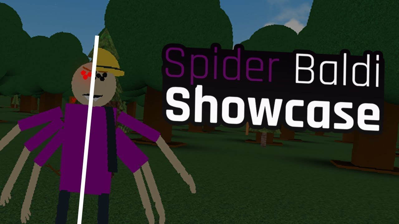 Spider Baldi Showcase Baldi S Basics Roleplay Alpha Youtube