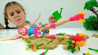 Барби на роликах. Видео для детей - Мультик Барби