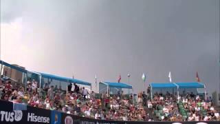 Australian Open: Lightning over Court 2 - 2014 Australian Open