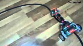 Çizgi takip eden robot engel görünce duran araba  -MEKSİS Mekatronik Sistemleri-