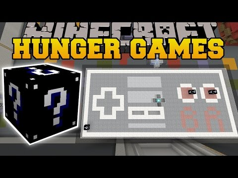 Minecraft: VIDEO GAME ARCADE HUNGER GAMES - Lucky Block Mod - Modded Mini-Game