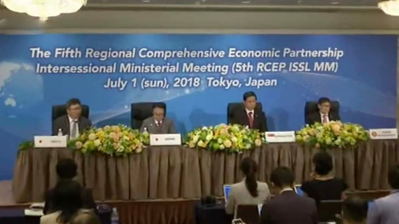 Trade Ministers From 16 Asia Pacific Countries Work Towards A Free
