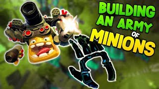 BUILDING THE ULTIMATE ARMY! | Spuds Unearthed VR - HTC Vive Gameplay