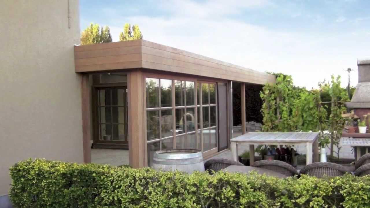 veranclassic fabrikant van veranda 39 s pergola 39 s in hout en aluminium youtube. Black Bedroom Furniture Sets. Home Design Ideas