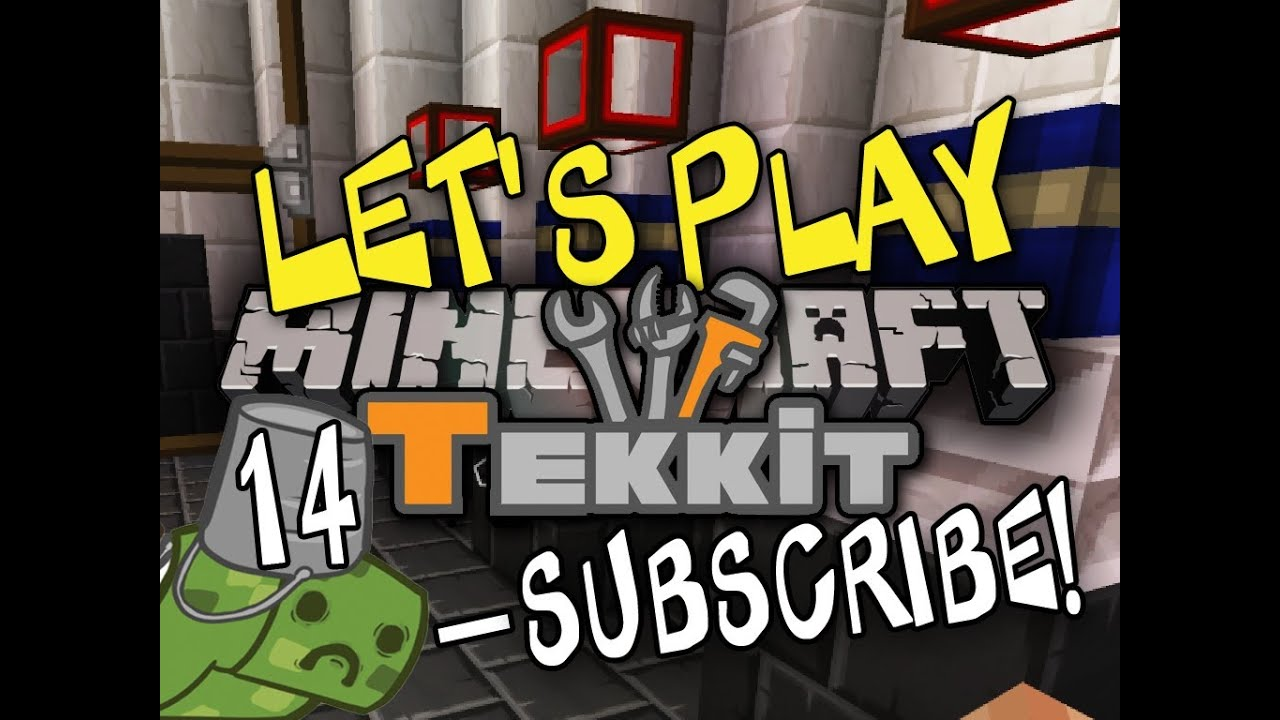 Let's Play Tekkit [Part 14] - The Engine Room!