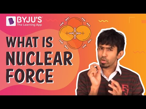 Nuclear Force - Definition, properties, examples
