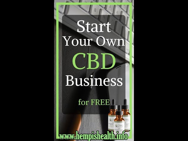 Start Your Own Organic CBD Business NO INvestment - How Much You Make