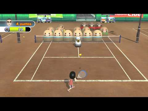 Wii Sports Club - Tennis: Training
